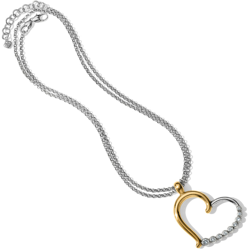 Brighton Sparkle Heart Necklace