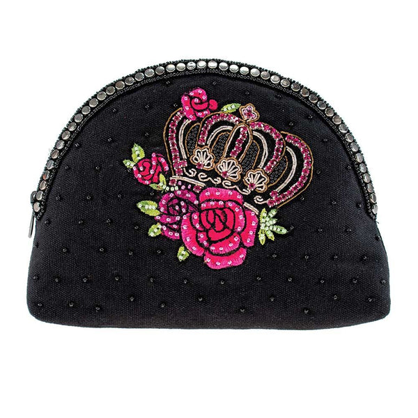 Mary Frances Queen of Everything Makeup Bag