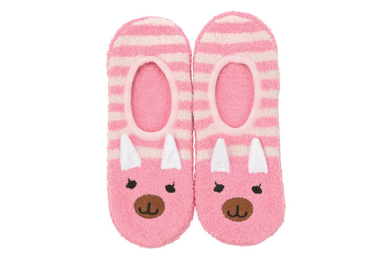 Snoozies! Pink Piggie Slipper Socks