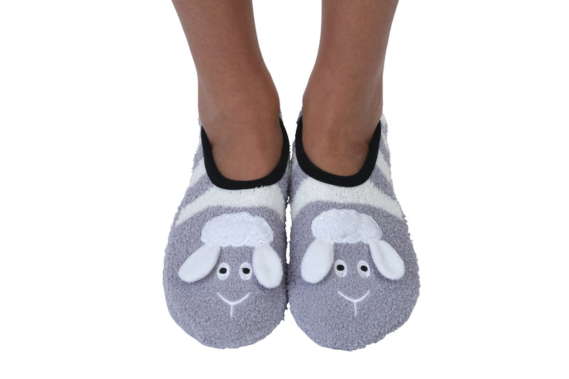Snoozies! Little Lamb Slipper Socks