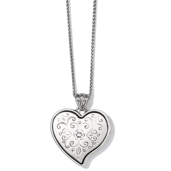 Brighton Ornate Heart Convertible Necklace