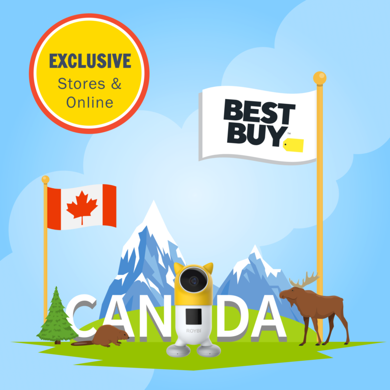 Roybi Robot Launches Exclusively at Best Buy Canada