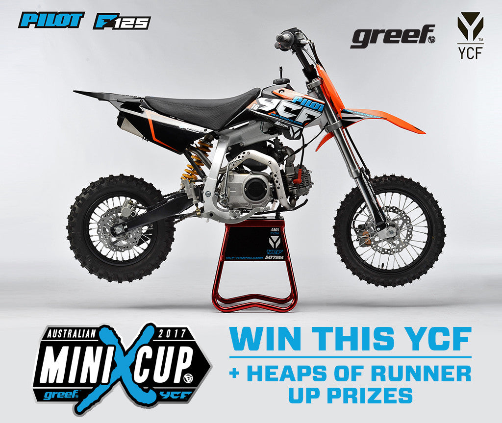 YCF Motorcycles Mini X Cup