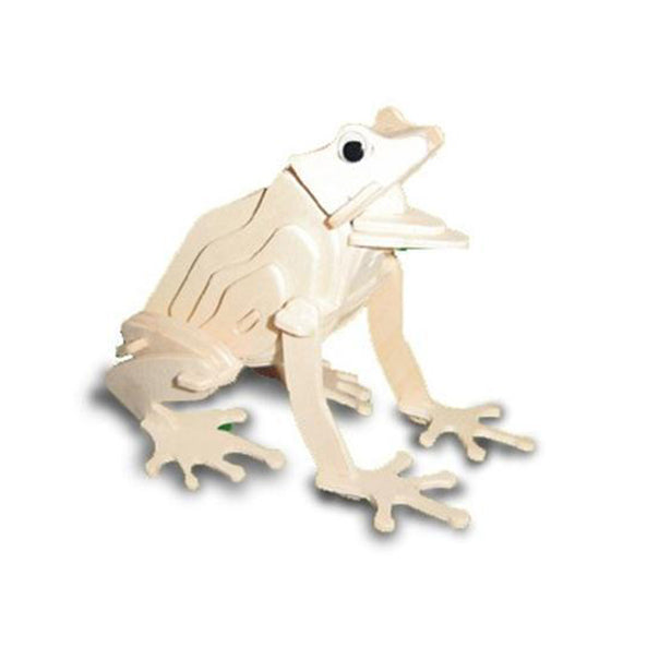 Frog woodcraft kit