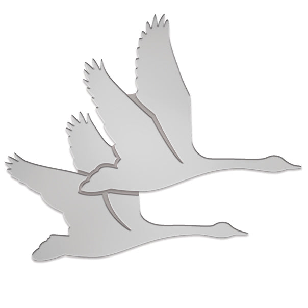 WWT logo pin badge