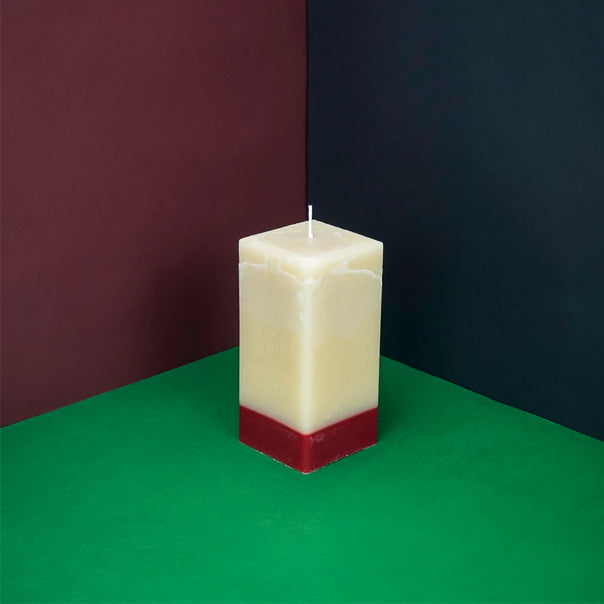 Rose and oud square candle
