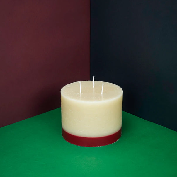 Rose and oud 3 wick candle