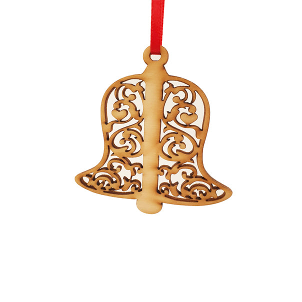 Wooden bell decoration