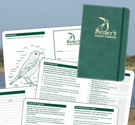 Birders pocket logbook