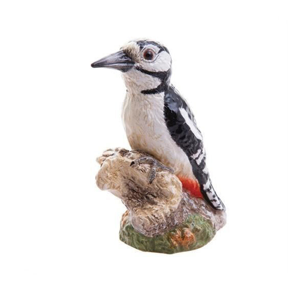 Great-spotted woodpecker sculpture