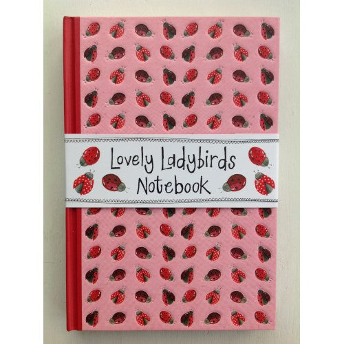 Hardback ladybird journal (A4)