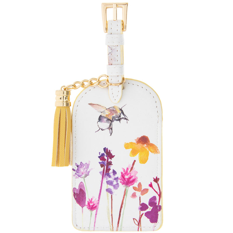 Busy bees luggage tag