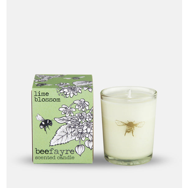 Lime blossom small candle