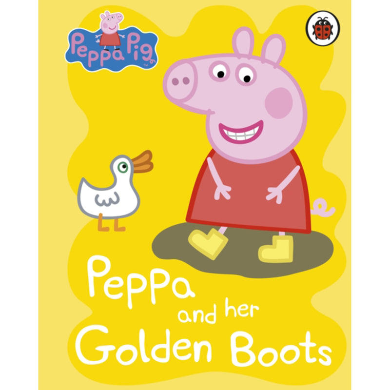Peppa and her Golden Boots