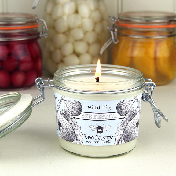 Wild fig kitchen candle