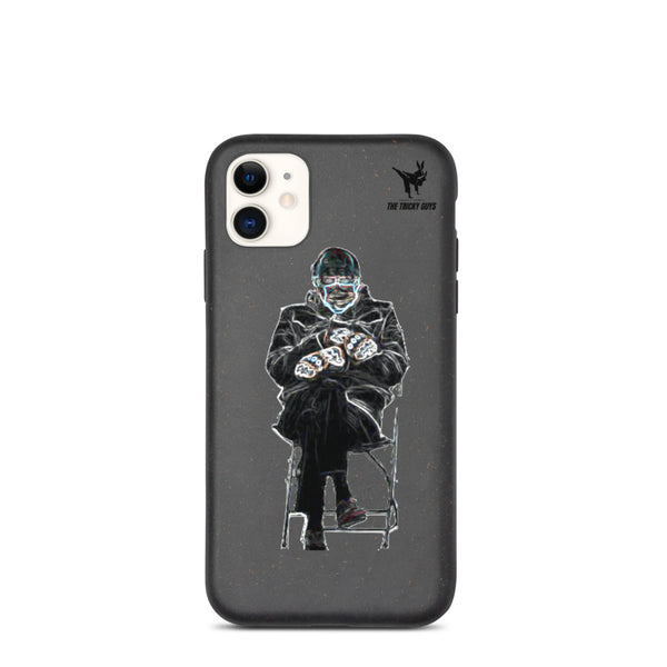 Bernie Sanders - Biodegradable phone case - Humans are FREE T-Shirts. Anti establishment T-Shirts. Cov-19, NWO, Celebrity, Funny, Crazy & Alternative T-Shirts for men and women