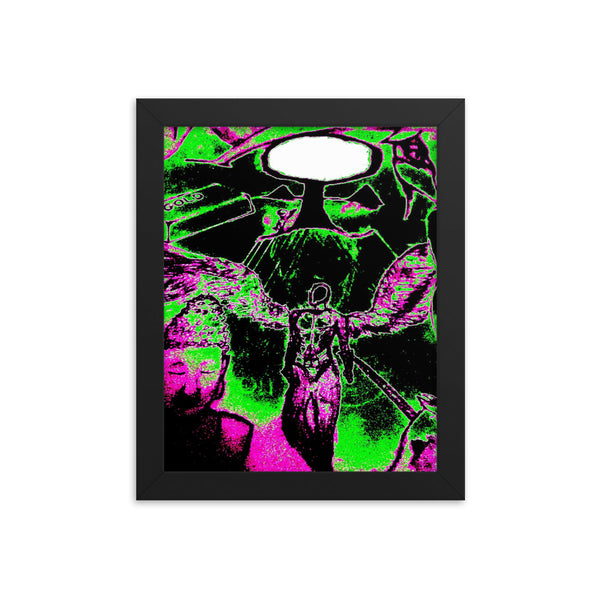 Acid Trip (The Dream Collection) - Framed poster - Humans are FREE T-Shirts. Anti establishment T-Shirts. Cov-19, NWO, Celebrity, Funny, Crazy & Alternative T-Shirts for men and women
