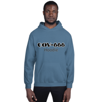 COV-666 Hoodie - Men's Hoodie - Humans are FREE T-Shirts. Anti establishment T-Shirts. Cov-19, NWO, Celebrity, Funny, Crazy & Alternative T-Shirts for men and women