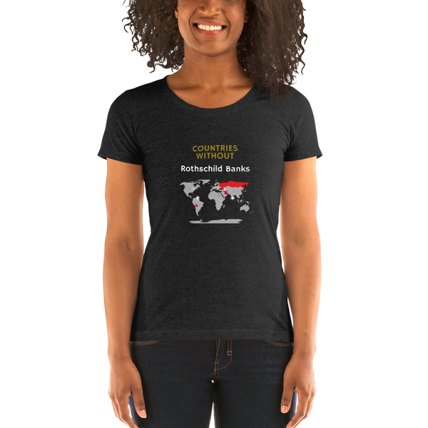 The Rothschildes - Women's T-Shirt - Humans are FREE T-Shirts. Anti establishment T-Shirts. Cov-19, NWO, Celebrity, Funny, Crazy & Alternative T-Shirts for men and women