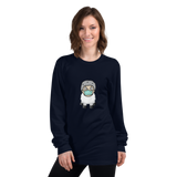 Sheep Man - Long sleeve Women's t-shirt - Humans are FREE T-Shirts. Anti establishment T-Shirts. Cov-19, NWO, Celebrity, Funny, Crazy & Alternative T-Shirts for men and women