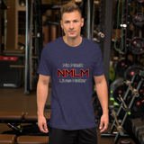No Mask Lives Matter - Men's T-Shirt - Humans are FREE T-Shirts. Anti establishment T-Shirts. Cov-19, NWO, Celebrity, Funny, Crazy & Alternative T-Shirts for men and women