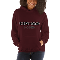 COV-666 Hoodie - Women's Hoodie - Humans are FREE T-Shirts. Anti establishment T-Shirts. Cov-19, NWO, Celebrity, Funny, Crazy & Alternative T-Shirts for men and women