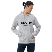COV-19 Hoodie - Men's Hoodie - Humans are FREE T-Shirts. Anti establishment T-Shirts. Cov-19, NWO, Celebrity, Funny, Crazy & Alternative T-Shirts for men and women