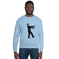 Zombie (Cov-19 Mask) - Men's Sweatshirt - Humans are FREE T-Shirts. Anti establishment T-Shirts. Cov-19, NWO, Celebrity, Funny, Crazy & Alternative T-Shirts for men and women