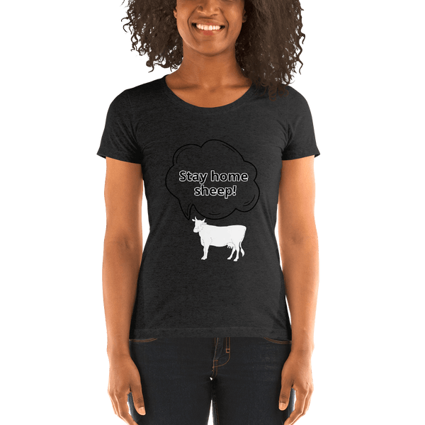 People are Sheep Cov-19 - Women's T-Shirt - Humans are FREE T-Shirts. Anti establishment T-Shirts. Cov-19, NWO, Celebrity, Funny, Crazy & Alternative T-Shirts for men and women