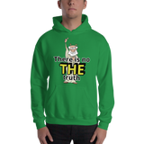 There is no THE truth (physics) - Men's Hoodie - Humans are FREE T-Shirts. Anti establishment T-Shirts. Cov-19, NWO, Celebrity, Funny, Crazy & Alternative T-Shirts for men and women