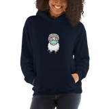 Sheep Man - Women's Hoodie - Humans are FREE T-Shirts. Anti establishment T-Shirts. Cov-19, NWO, Celebrity, Funny, Crazy & Alternative T-Shirts for men and women
