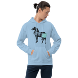 Covid Mask (Horses Ass) - Men's Hoodie - Humans are FREE T-Shirts. Anti establishment T-Shirts. Cov-19, NWO, Celebrity, Funny, Crazy & Alternative T-Shirts for men and women