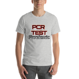 PCR Test Pandemic - Men's T-Shirt - Humans are FREE T-Shirts. Anti establishment T-Shirts. Cov-19, NWO, Celebrity, Funny, Crazy & Alternative T-Shirts for men and women