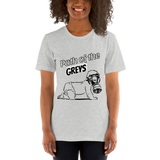 Path of the Greys - Women's T-Shirt - Humans are FREE T-Shirts. Anti establishment T-Shirts. Cov-19, NWO, Celebrity, Funny, Crazy & Alternative T-Shirts for men and women
