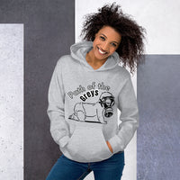 Path of the Greys - Women's Hoodie - Humans are FREE T-Shirts. Anti establishment T-Shirts. Cov-19, NWO, Celebrity, Funny, Crazy & Alternative T-Shirts for men and women