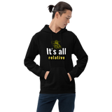 It's all relative (physics) - Men's Hoodie - Humans are FREE T-Shirts. Anti establishment T-Shirts. Cov-19, NWO, Celebrity, Funny, Crazy & Alternative T-Shirts for men and women