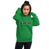 COV-19 Hoodie - Women's Hoodie - Humans are FREE T-Shirts. Anti establishment T-Shirts. Cov-19, NWO, Celebrity, Funny, Crazy & Alternative T-Shirts for men and women