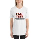 PCR Test Pandemic - Women's T-Shirt - Humans are FREE T-Shirts. Anti establishment T-Shirts. Cov-19, NWO, Celebrity, Funny, Crazy & Alternative T-Shirts for men and women