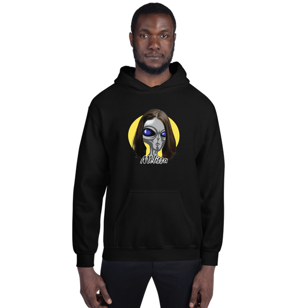 "Melissa ""The Greys"" - Men's Hoodie - Humans are FREE T-Shirts. Anti establishment T-Shirts. Cov-19, NWO, Celebrity, Funny, Crazy & Alternative T-Shirts for men and women"