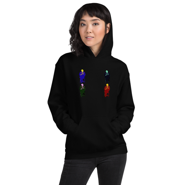 Bernie Sanders (colourized) - Womens Hoodie - Humans are FREE T-Shirts. Anti establishment T-Shirts. Cov-19, NWO, Celebrity, Funny, Crazy & Alternative T-Shirts for men and women