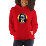 "Melissa ""The Greys"" - Women's Hoodie - Humans are FREE T-Shirts. Anti establishment T-Shirts. Cov-19, NWO, Celebrity, Funny, Crazy & Alternative T-Shirts for men and women"