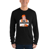 "Justin Trudeau ""The Cockwomble"" - Men's long sleeve t-shirt - Humans are FREE T-Shirts. Anti establishment T-Shirts. Cov-19, NWO, Celebrity, Funny, Crazy & Alternative T-Shirts for men and wo"