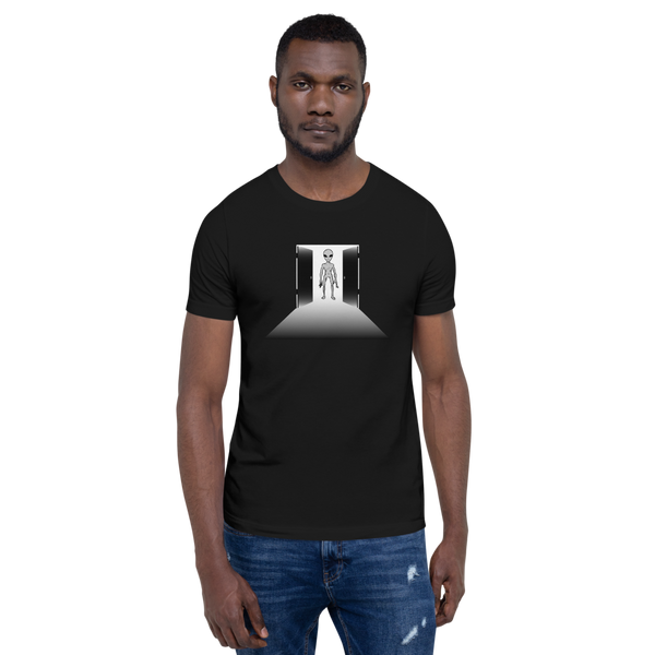 "Extraterrestrial ""open your mind"" - Men's T-Shirt - Humans are FREE T-Shirts. Anti establishment T-Shirts. Cov-19, NWO, Celebrity, Funny, Crazy & Alternative T-Shirts for men and women"
