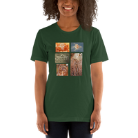Ancient E.T/Alien Art - Women's T-Shirt - Humans are FREE T-Shirts. Anti establishment T-Shirts. Cov-19, NWO, Celebrity, Funny, Crazy & Alternative T-Shirts for men and women