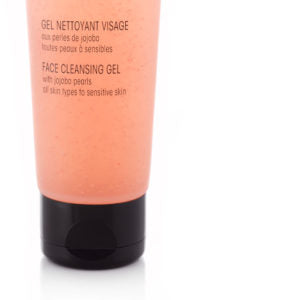 Natural Face Cleansing Gel with Jojoba Pearls