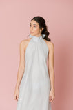 Linen Backless Dress