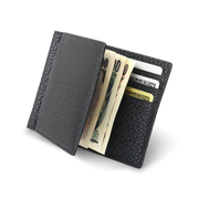 Bi-fold Bill Clip With Coin Pocket-BONAVENTURA