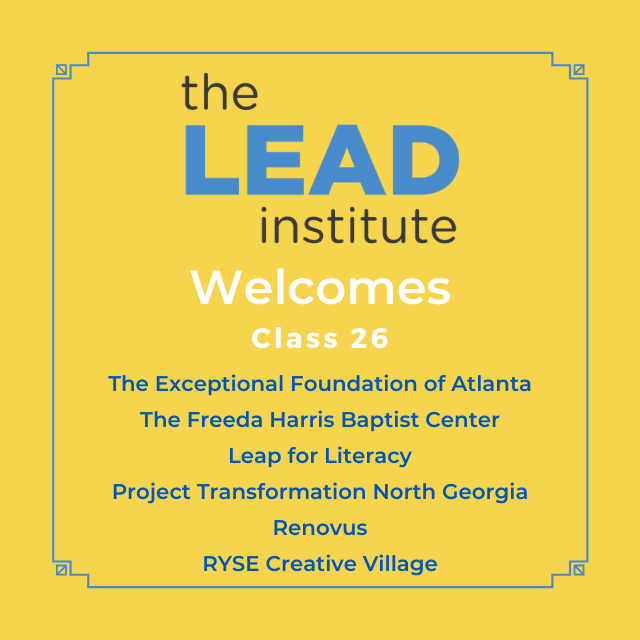 The LEAD Institute Welcomes Class 26