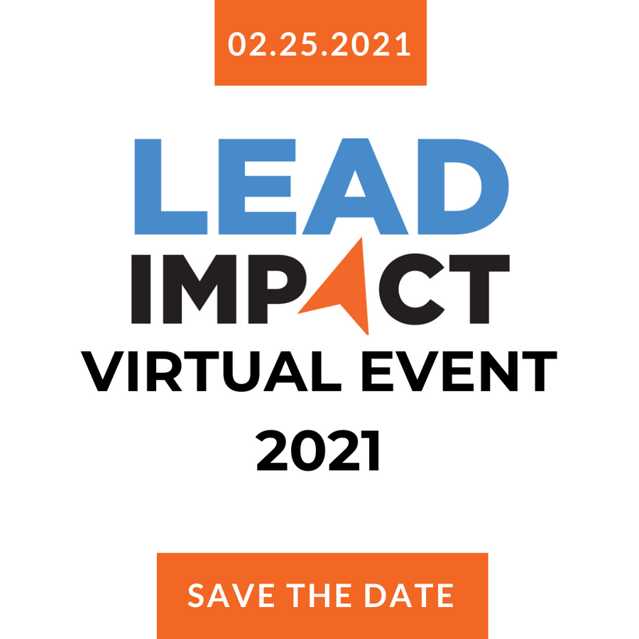 Champion Sponsor of the LEAD Impact Event