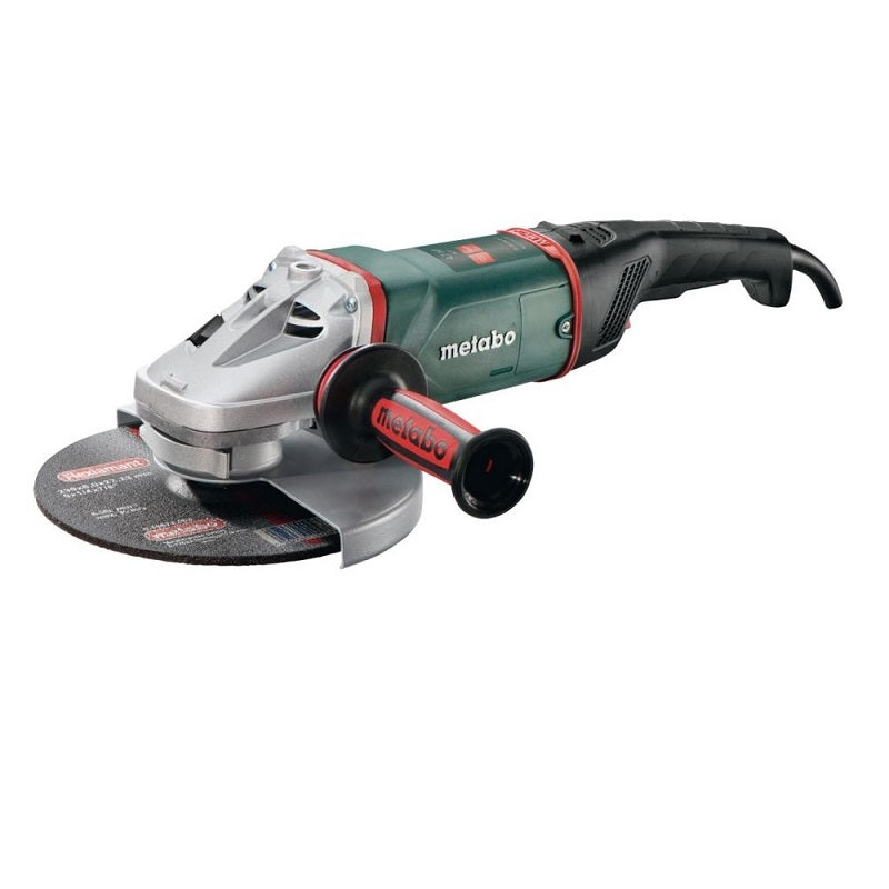 "Amoladora Angular METABO de 9"" (230 mm) 2,400 Watts W 24-230 MVT"
